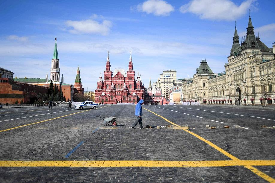 COVID-19 : les villes désertes Moscou10