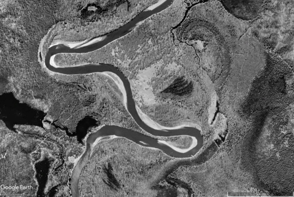 Création d'un bras mort sur la rivière Ontonagon (Michigan) Mzoand11