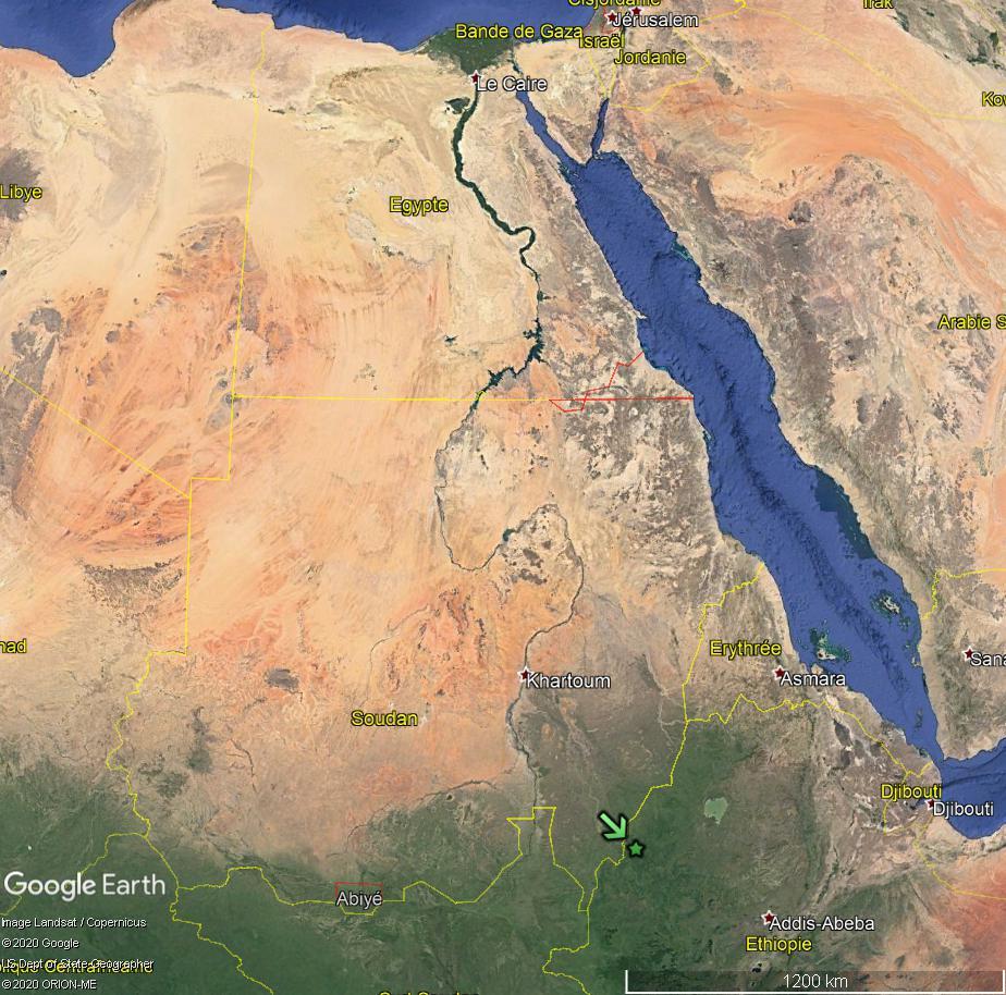 Barrage de la Renaissance (Ethiopie) : la geurre de l'eau aura-t-elle lieu avec le Soudan et l'Egypte ? Nil_bl13