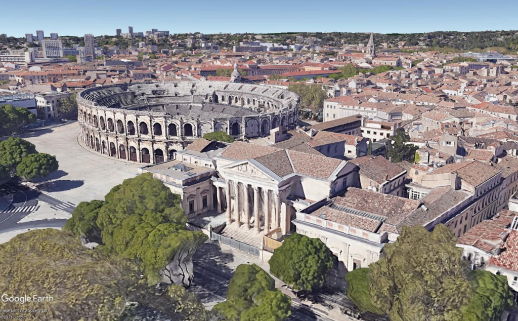 ARCHITECTURE : les frontons racontent l'Histoire - Page 2 Nimes110