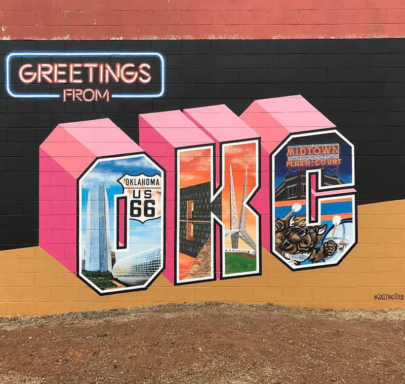 Greetings from... Okc10