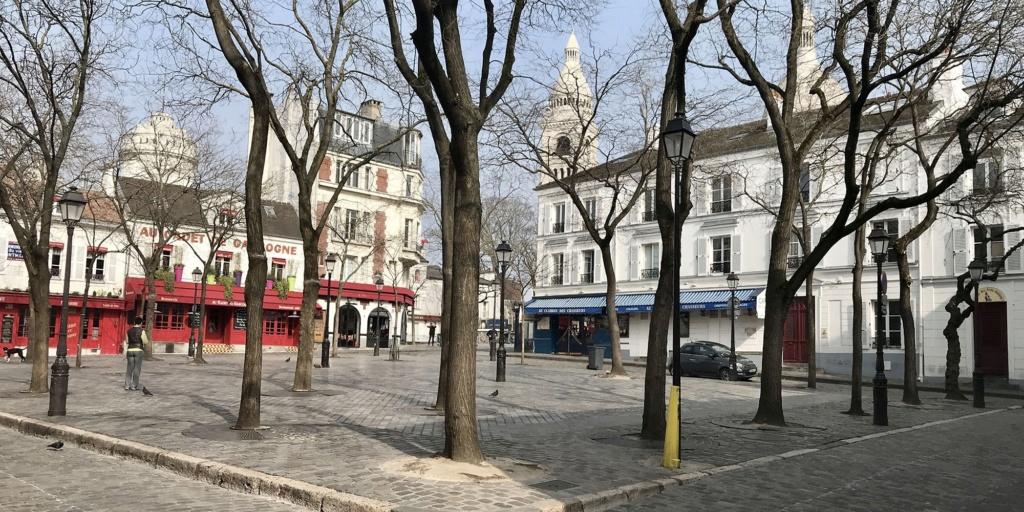 COVID-19 : les villes désertes Paris_10