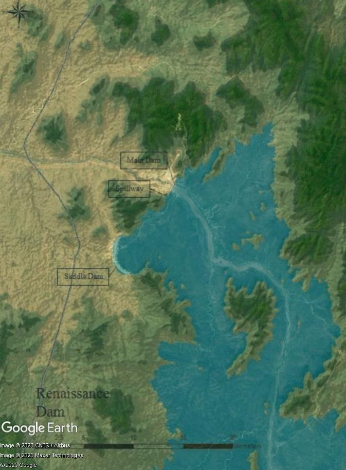 Barrage de la Renaissance (Ethiopie) : la geurre de l'eau aura-t-elle lieu avec le Soudan et l'Egypte ? Pays210