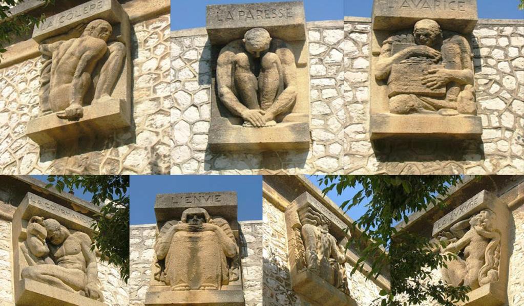 La prison des Baumettes présente les 7 péchés capitaux Peches10