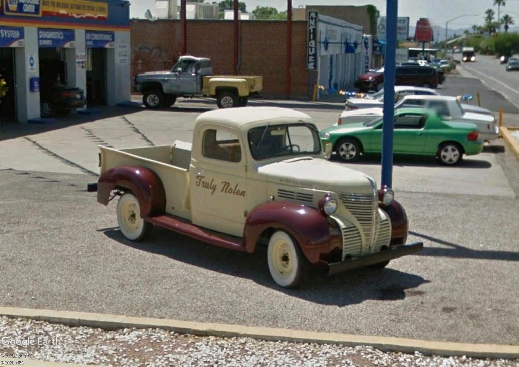 STREET VIEW : les vieilles voitures américaines - Page 5 Pickup11