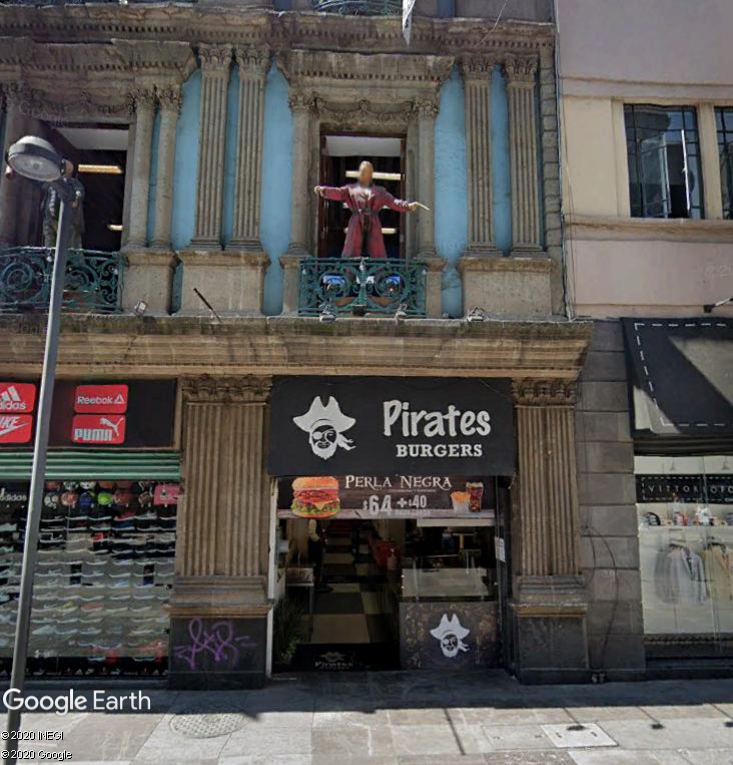 Burger all around the world Pirate12