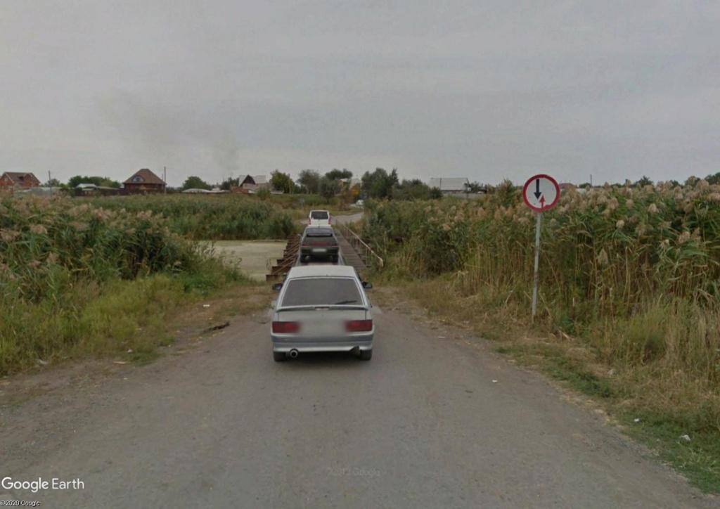 Krivianskaïa, bourg rural du sud de la Russie Pont10