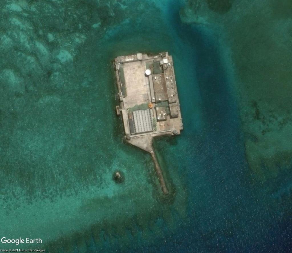 MER DE CHINE MERIDIONALE : la mainmise de la Chine... et le redécoupage des eaux territoriales Recifd11