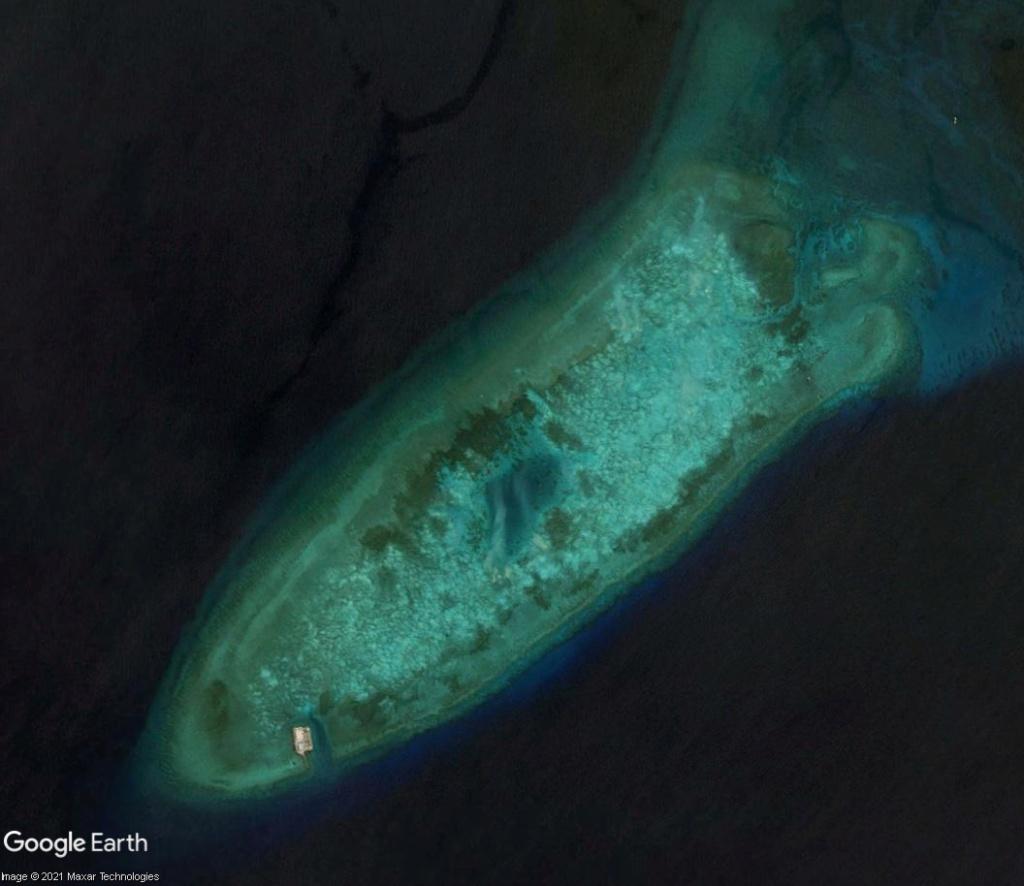 MER DE CHINE MERIDIONALE : la mainmise de la Chine... et le redécoupage des eaux territoriales Recifd12