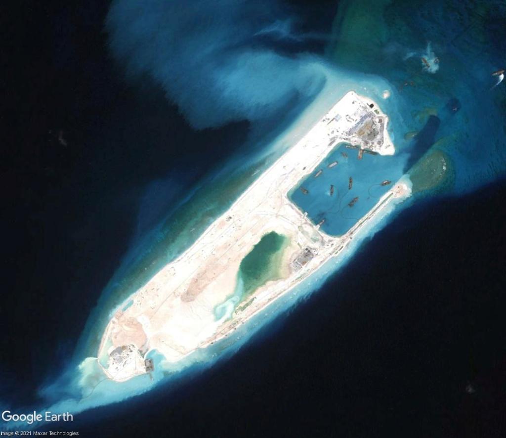 MER DE CHINE MERIDIONALE : la mainmise de la Chine... et le redécoupage des eaux territoriales Recifd14