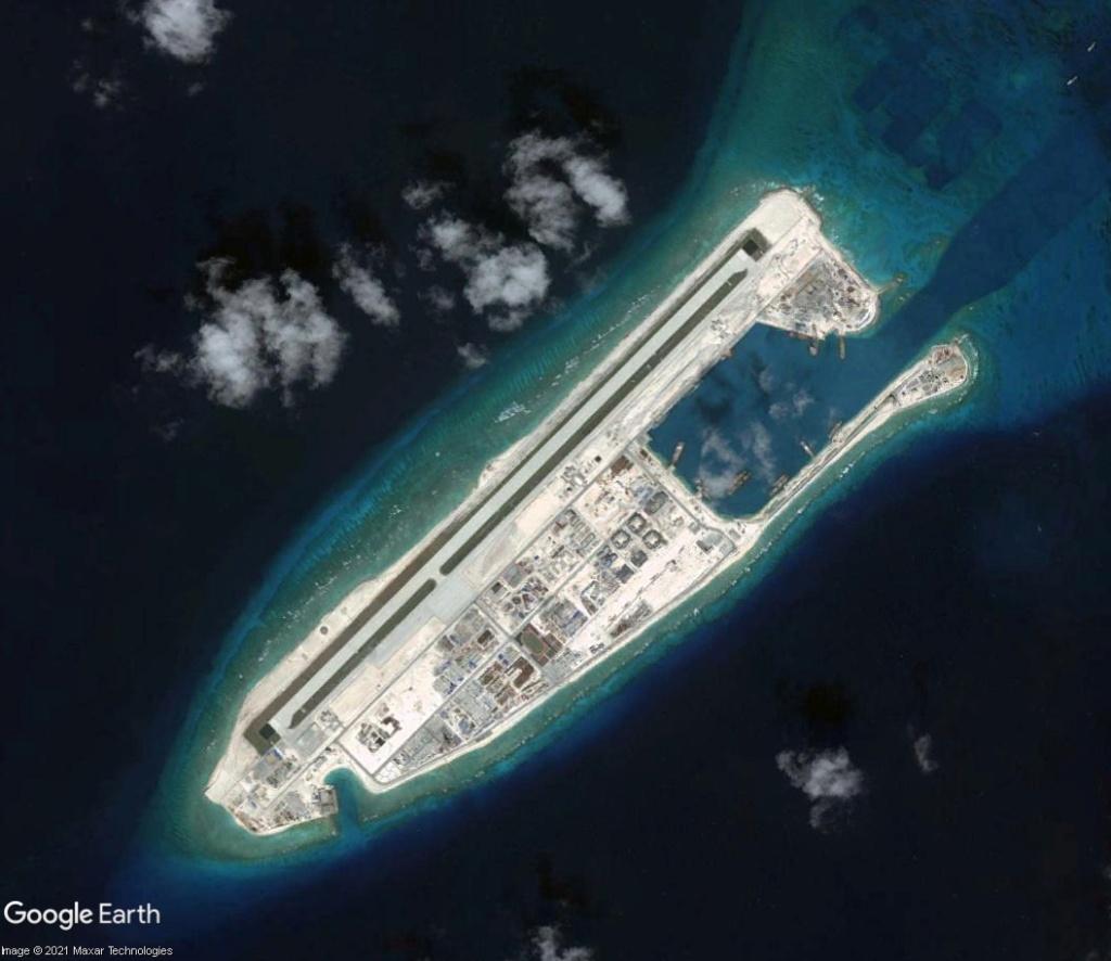 MER DE CHINE MERIDIONALE : la mainmise de la Chine... et le redécoupage des eaux territoriales Recifd15