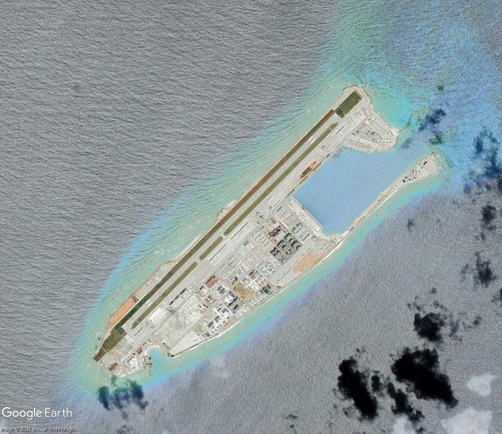 MER DE CHINE MERIDIONALE : la mainmise de la Chine... et le redécoupage des eaux territoriales Recifd16