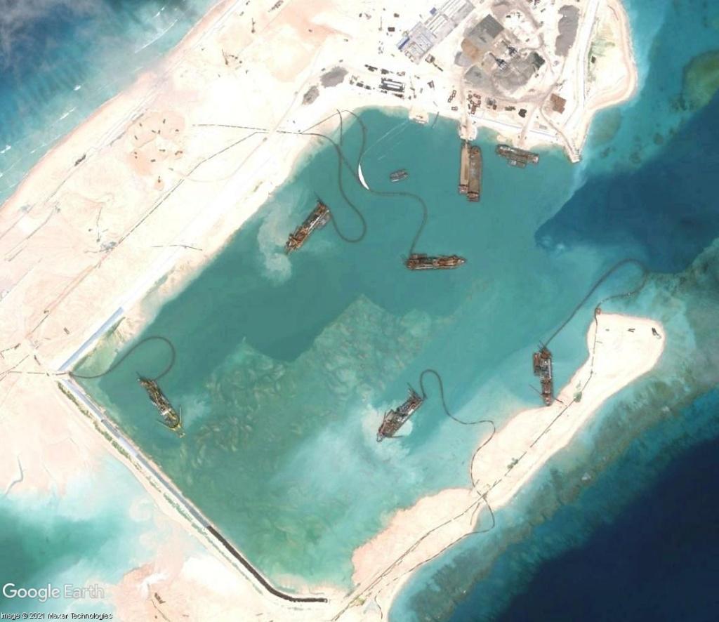 MER DE CHINE MERIDIONALE : la mainmise de la Chine... et le redécoupage des eaux territoriales Recifd17
