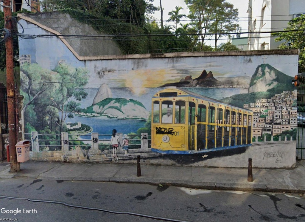 STREET VIEW : les tramways en action - Page 5 Rio310