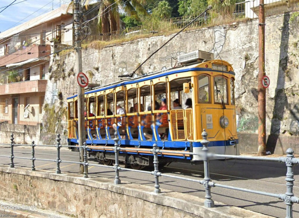 STREET VIEW : les tramways en action - Page 5 Rio410