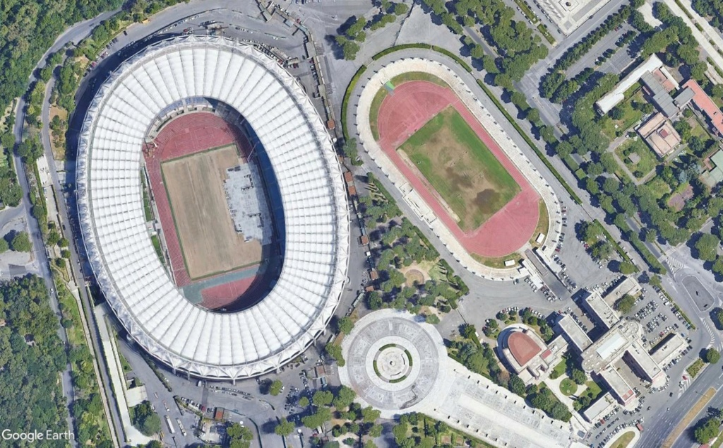 Stades d'athlétisme hors du commun - Page 3 Rome11