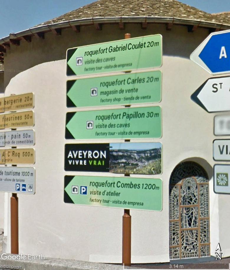 Les villages qui ont donné leur nom à un fromage (sujet touristique !) - Page 2 Roquef18