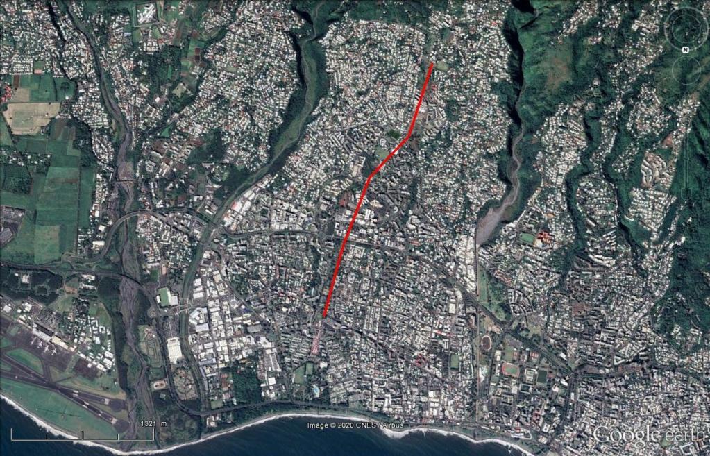 [Bientôt visible sur Google Earth] - Téléphérique Chaudron - Bois de Nèfles, Saint Denis, la Réunion Rzou410