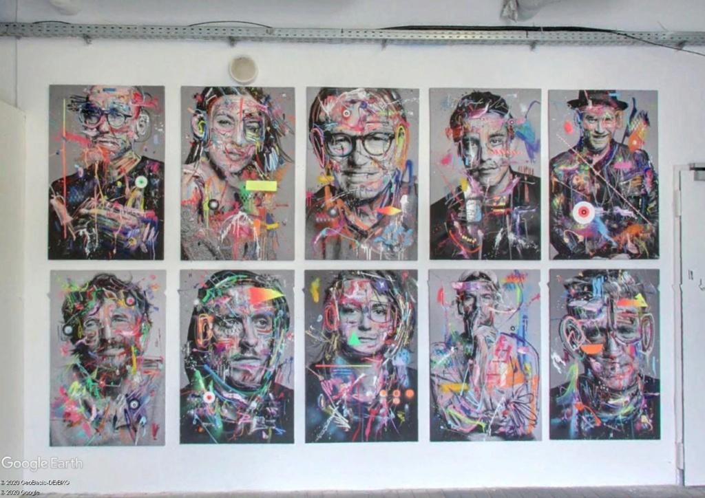 Millerntor Gallery : une gallerie sous les gradins d'un stade de Hambourg S110