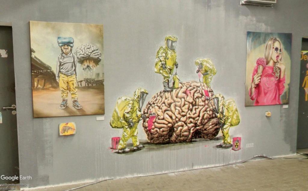 Millerntor Gallery : une gallerie sous les gradins d'un stade de Hambourg S410