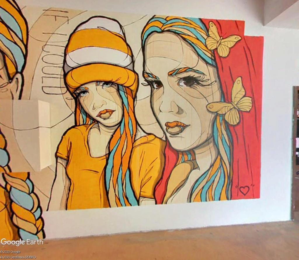 Millerntor Gallery : une gallerie sous les gradins d'un stade de Hambourg S510