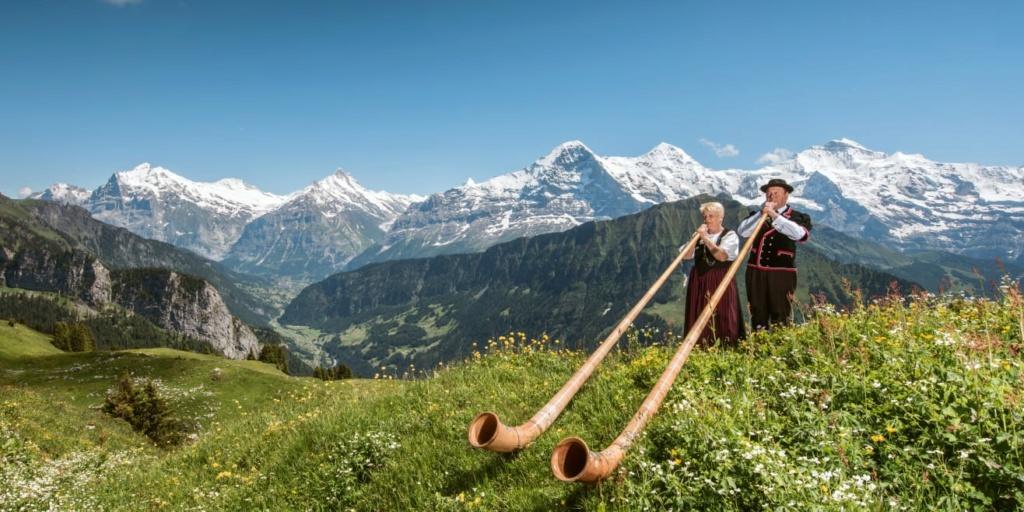 Un instrument de musique pas fréquent : le cor des Alpes Schyni11
