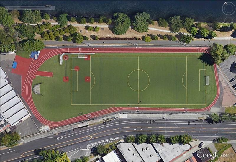 Stades d'athlétisme hors du commun Seattl12