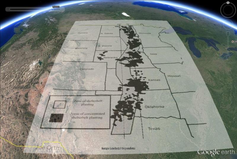 Le projet Shelterbelt (Great Plains Shelterbelt) : projet pharaonique pour lutter contre le Dust Bowl Shelte12