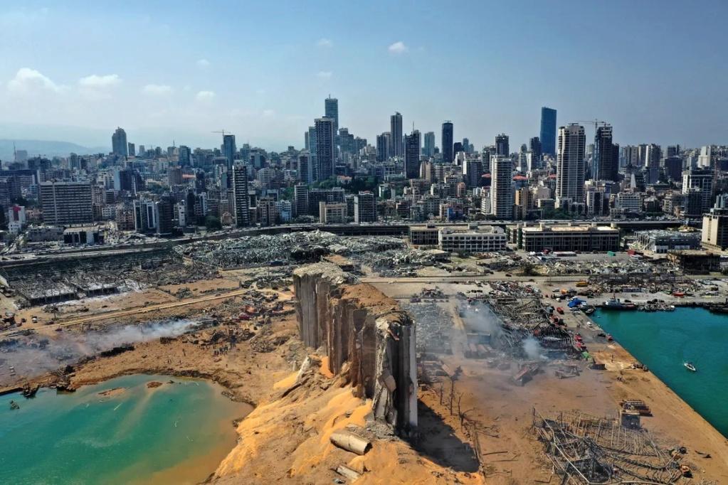Beyrouth, 4/08/2020 Silos10