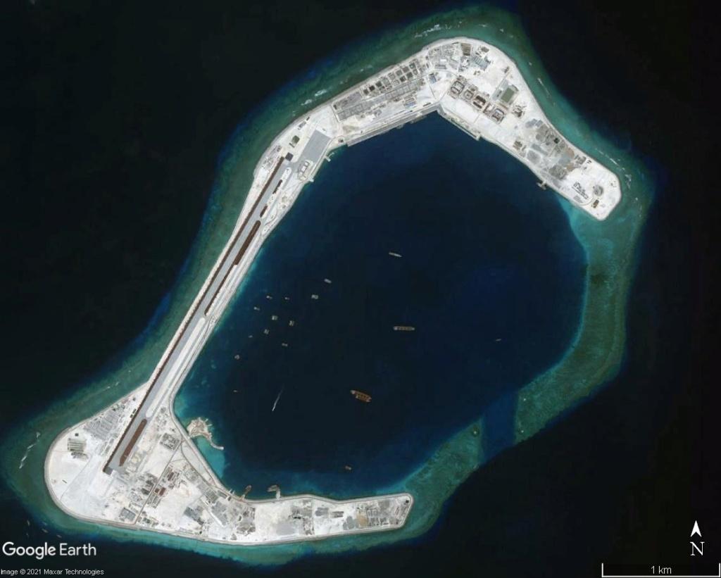 MER DE CHINE MERIDIONALE : la mainmise de la Chine... et le redécoupage des eaux territoriales Subi0210
