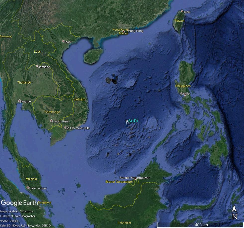 MER DE CHINE MERIDIONALE : la mainmise de la Chine... et le redécoupage des eaux territoriales Subi10