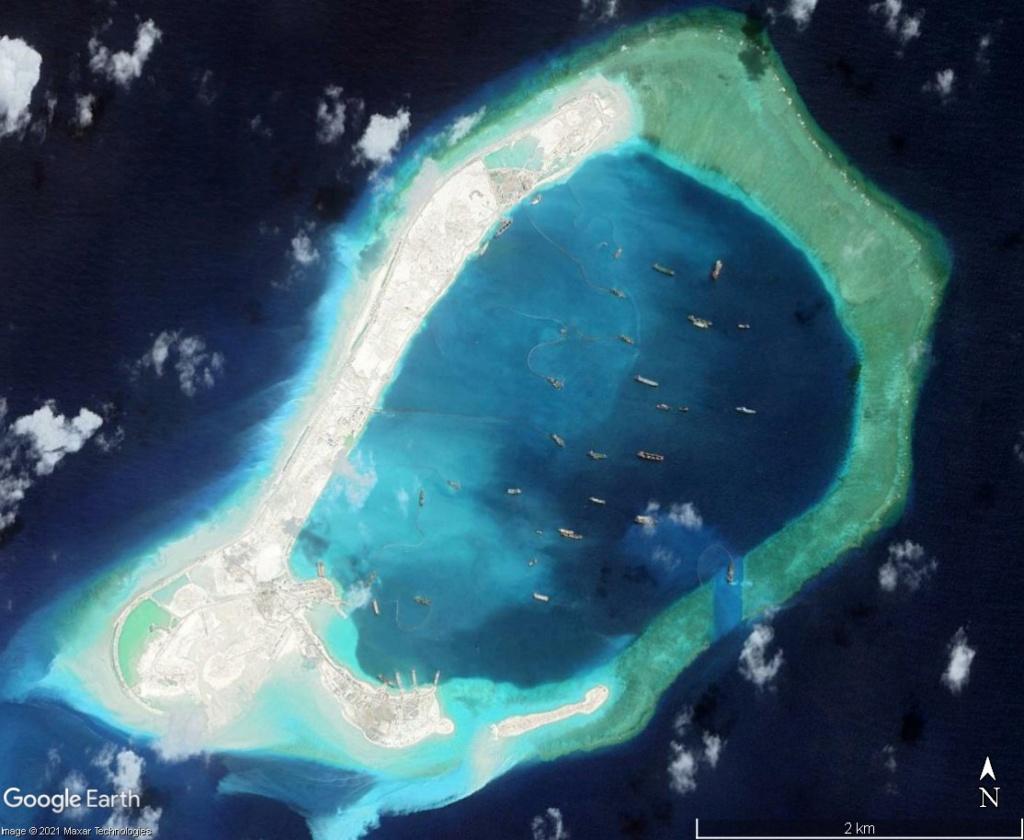 MER DE CHINE MERIDIONALE : la mainmise de la Chine... et le redécoupage des eaux territoriales Subi910