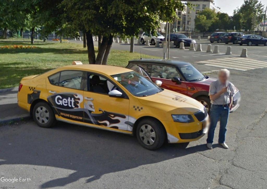 Un chauffeur de taxi qui se rêve pilote de Formule 1 Taxi10
