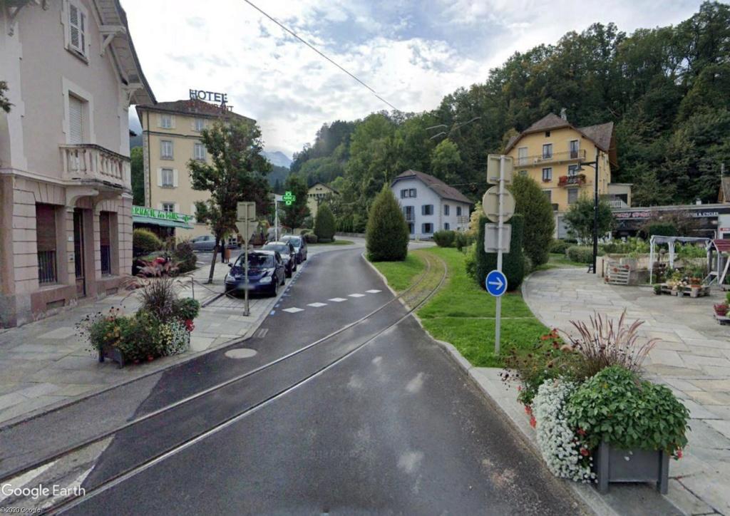 Le Tramway du Mont-Blanc : à l'assaut de la haute montagne Tram110