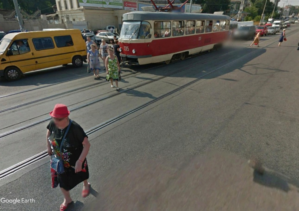 STREET VIEW : les tramways en action - Page 5 Tramw310