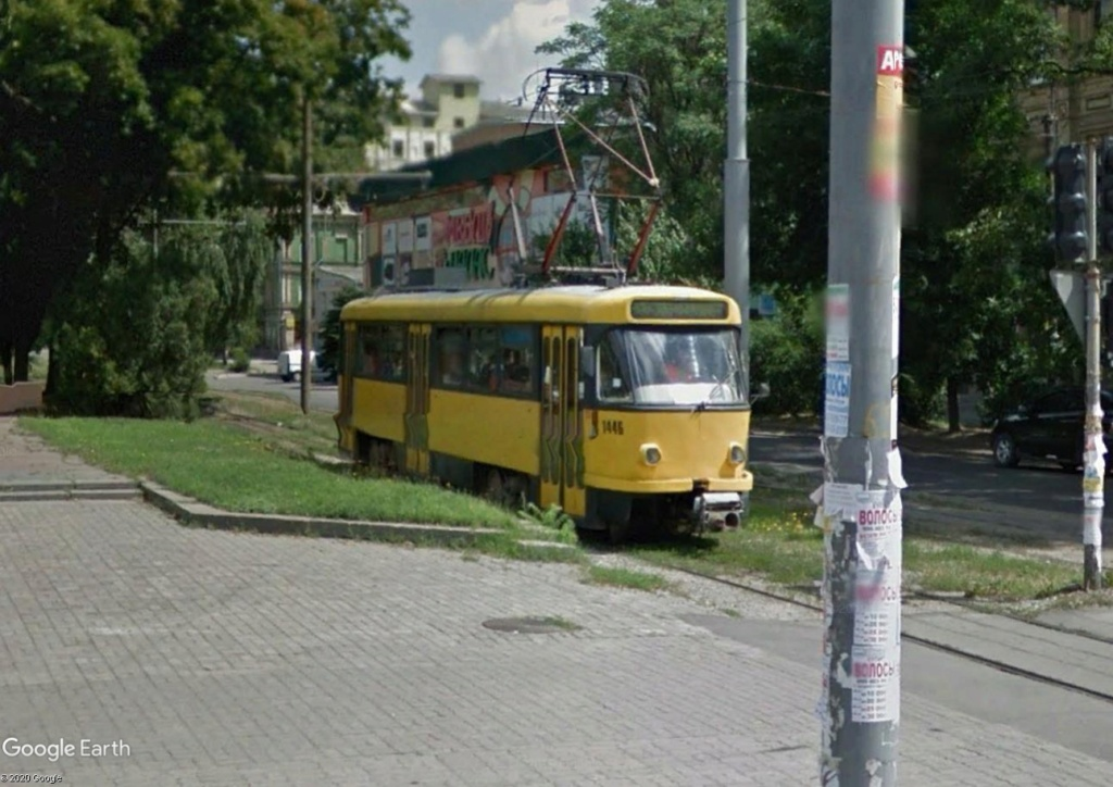 STREET VIEW : les tramways en action - Page 5 Tramw610