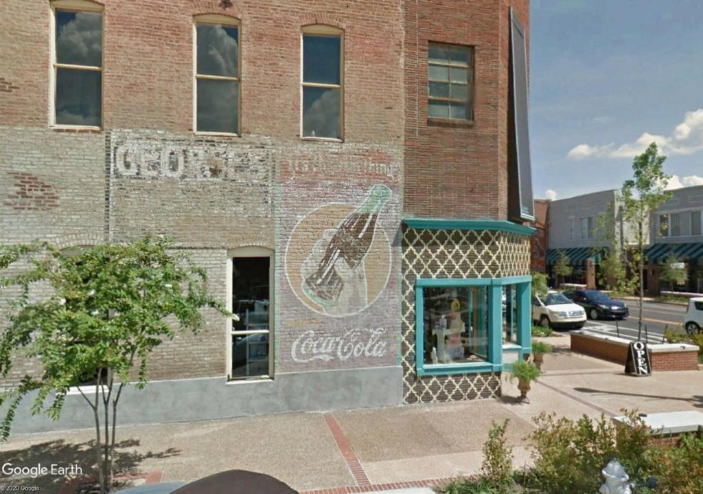 STREET VIEW : Vieilles publicités murales - Page 24 Tupelo10