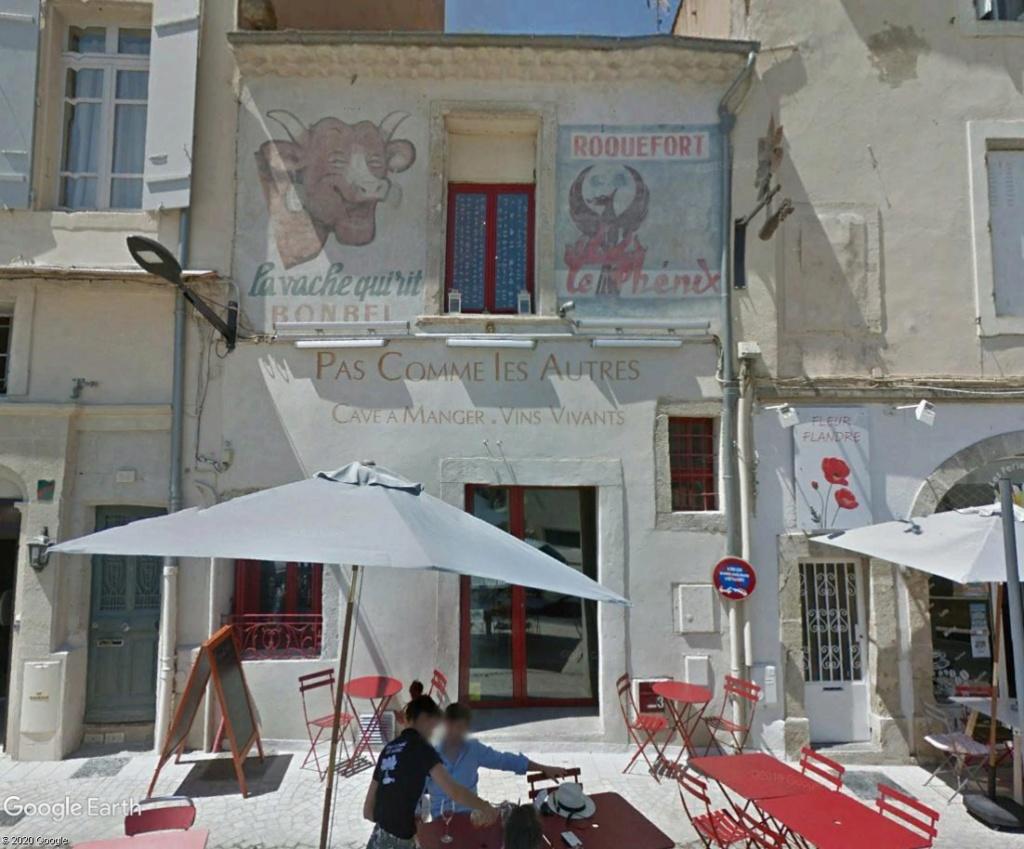 STREET VIEW : Vieilles publicités murales - Page 24 Vache10