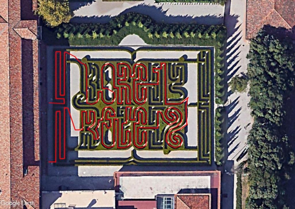 Les labyrinthes découverts dans Google Earth - Page 23 Venise10