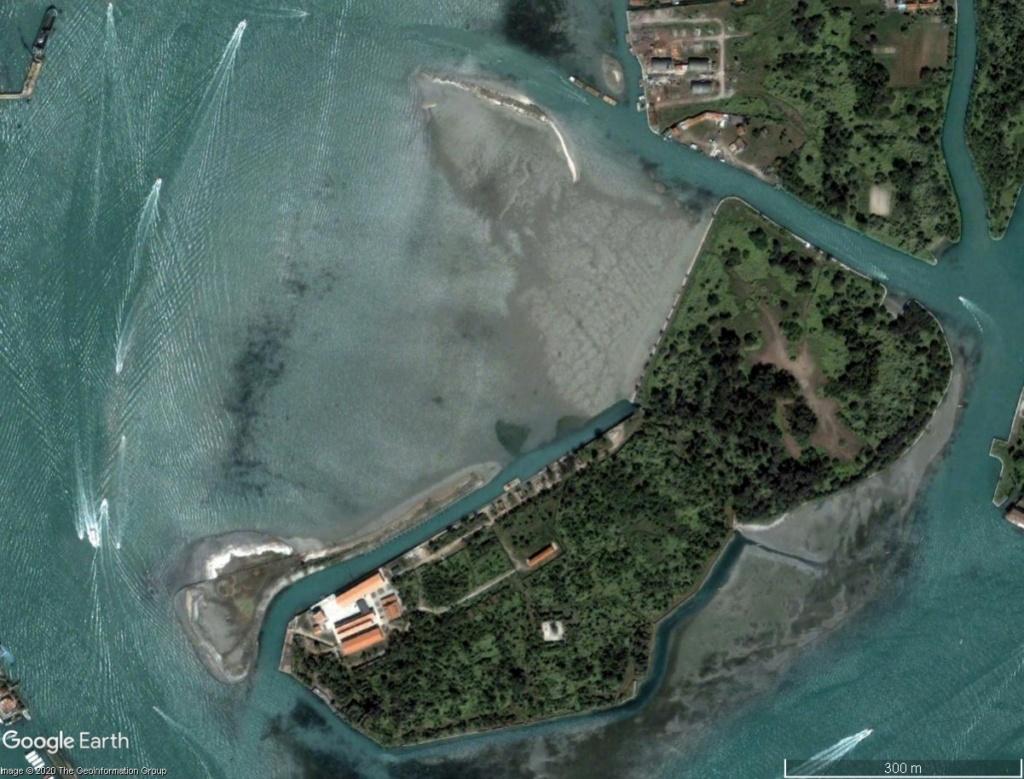 VENISE : ensablement naturel ou création d'un polder ? Venise16