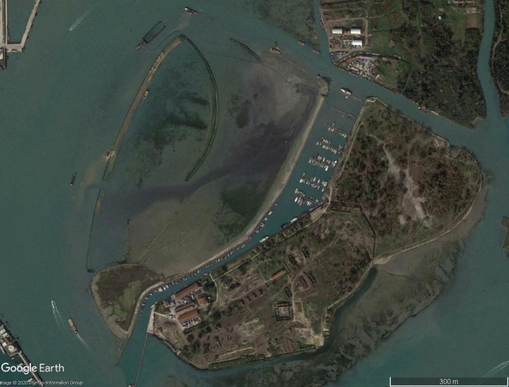 VENISE : ensablement naturel ou création d'un polder ? Venise18