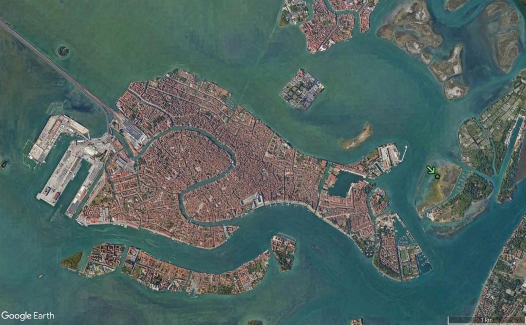 VENISE : ensablement naturel ou création d'un polder ? Venise22
