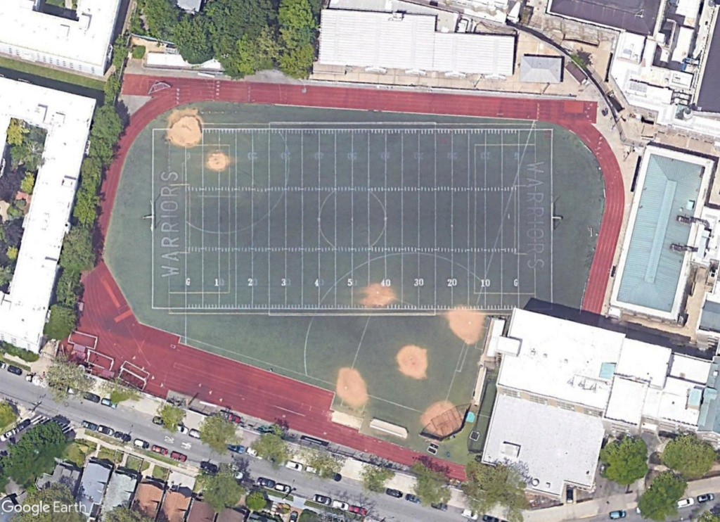 Stades d'athlétisme hors du commun Warrio10