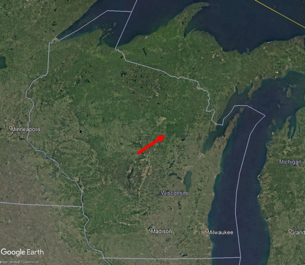 Une intrigante forêt dans le Wisconsin (Réserve indienne Menominee) Wisc110