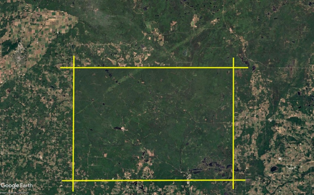 Une intrigante forêt dans le Wisconsin (Réserve indienne Menominee) Wisc_310