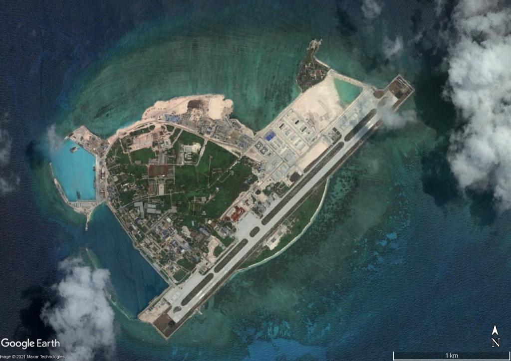 MER DE CHINE MERIDIONALE : la mainmise de la Chine... et le redécoupage des eaux territoriales Woody10