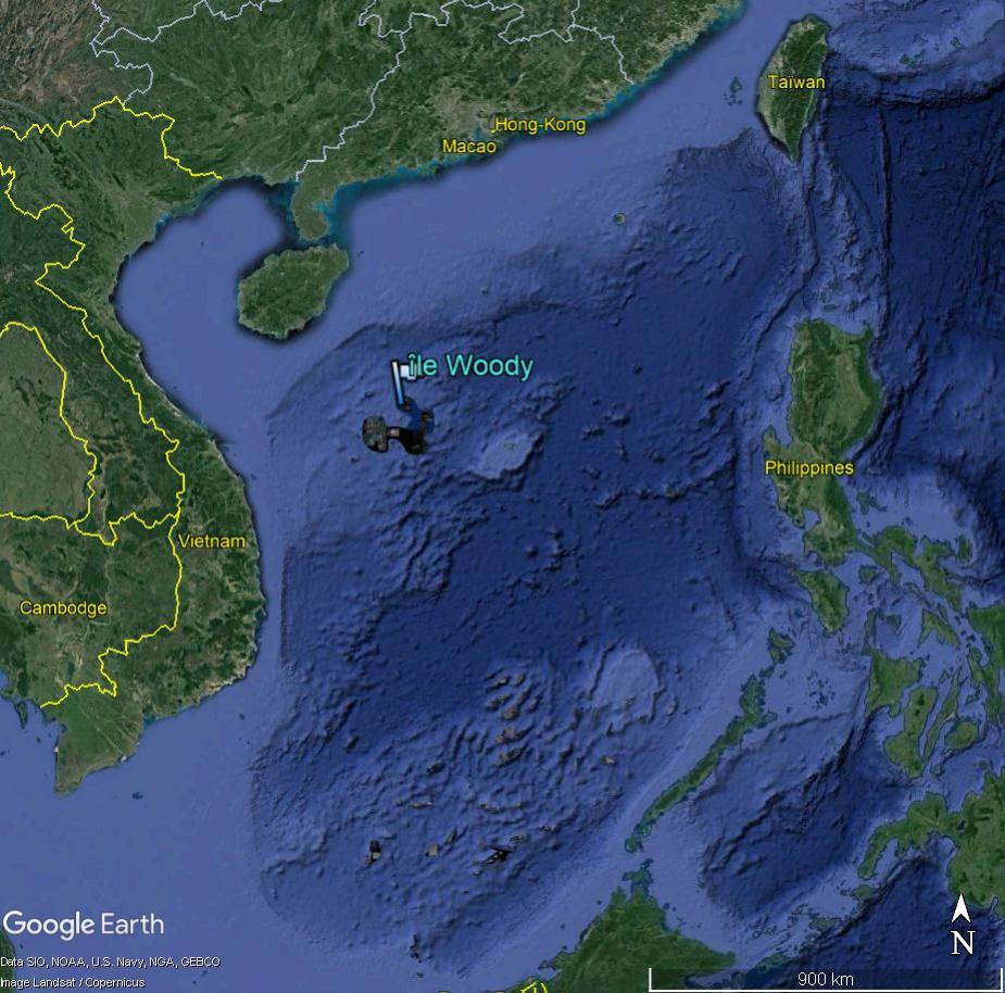 MER DE CHINE MERIDIONALE : la mainmise de la Chine... et le redécoupage des eaux territoriales Woody213