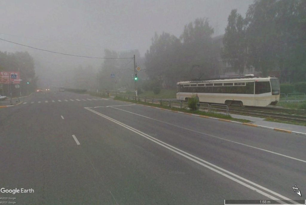 STREET VIEW : les tramways en action - Page 6 Zlat110