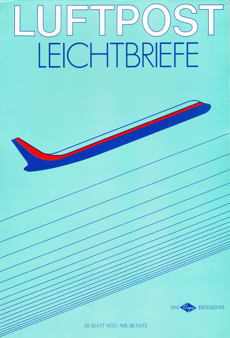 Flugpostfaltbriefe (Aerogramme) Luftpo10