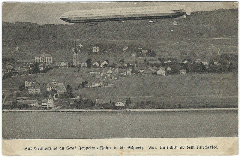 Luftschiff LZ-1- - Karte Zeppel11